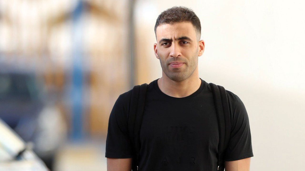 حمدالله يعتذر لبعثة أولمبيك آسفي