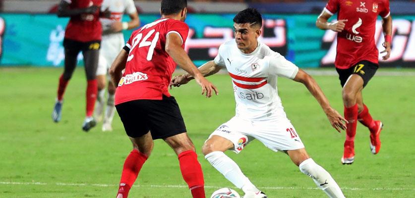 الزمالك تعاقب أشرف بنشرقي بعد خروجه من المباراة غاضبا