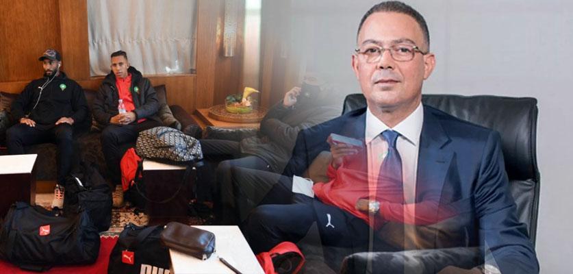 لقجع يترأس بعثة المنتخب المغربي المتوجهة إلى الكاميرون