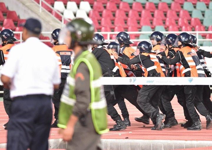 ولاية أمن الرباط توقف 13 شخصاً متورطاً في أعمال الشغب بعد لقاء الجيش و الرجاء