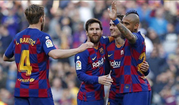 برشلونة يتخطى ريال مدريد في عدد الأهداف في تاريخ الليغا