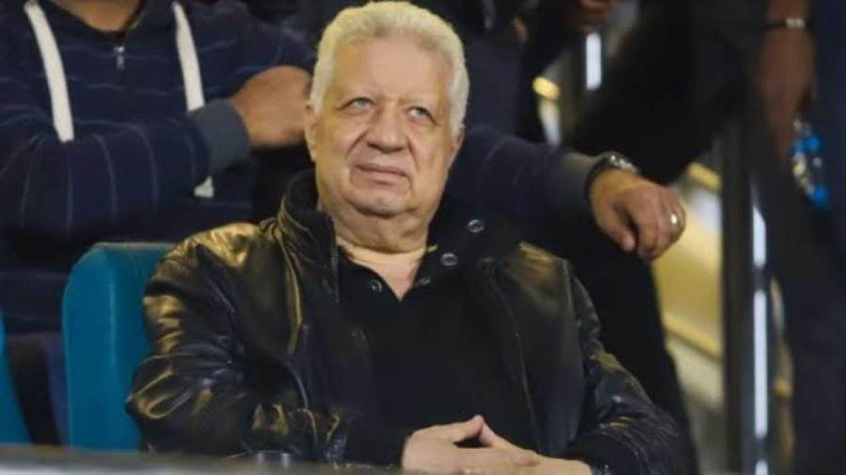 مرتضى منصور يتناسى العقوبة والأهلي ويحفز لاعبيه قبل موقعة الترجي