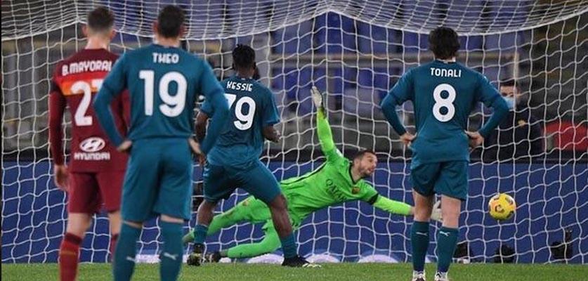 الميلان يجتاز عقبة روما ويحقق فوزا مهما في الدوري الإيطالي