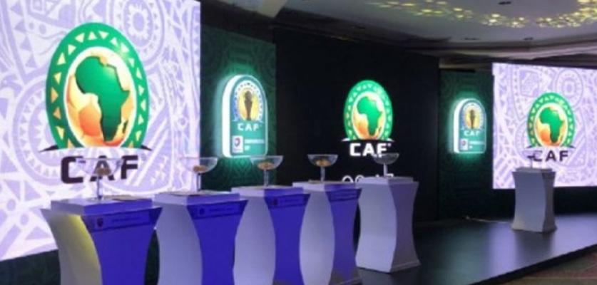 """الكشف عن قرعة دور المجموعات من منافسة الكونفدرالية الإفريقية """"الكاف"""""""