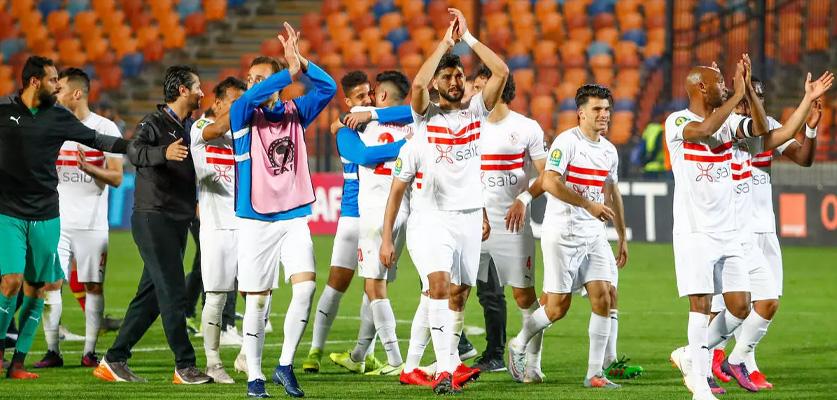 الزمالك المصري يتعادل مع ضيفه مولودية الجزائر في دوري أبطال إفريقيا