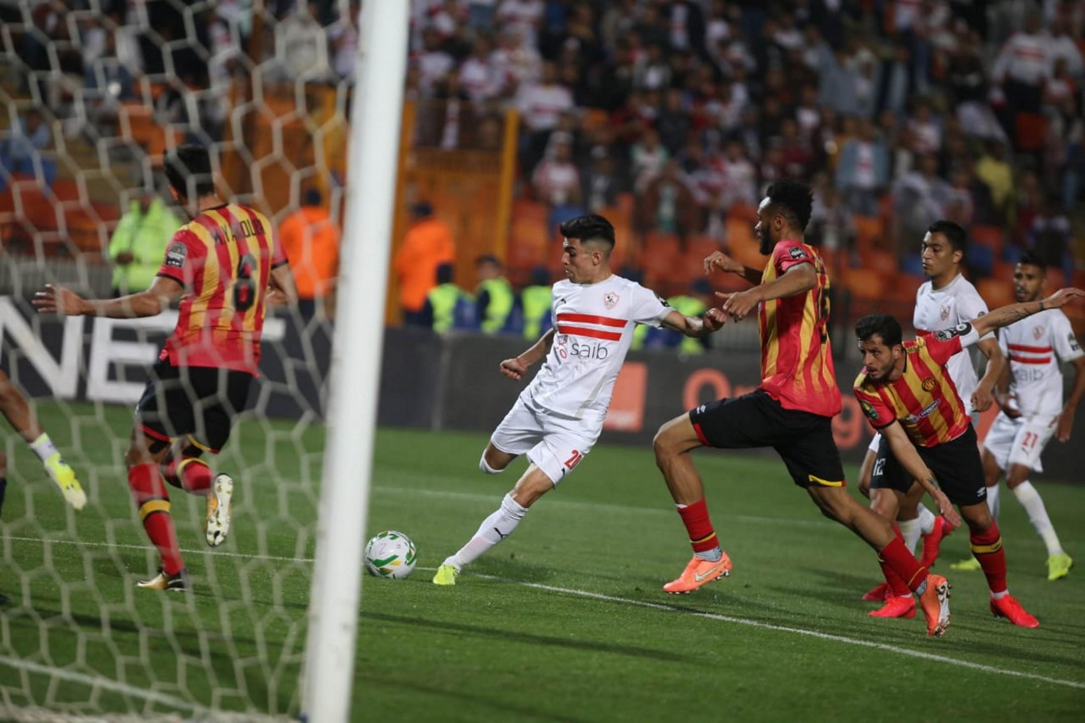 الزمالك يزيح الترجي ويتأهل لنصف نهائي دوري أبطال إفريقيا