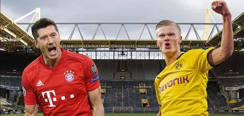 مواجهة القمة بين دورتموند و بايرن ميونخ في الدوري الألماني