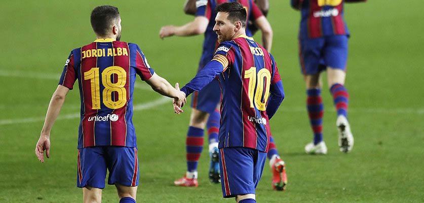 """انتصار مهم لبرشلونة على أوساسونا في """"لاليغا"""""""