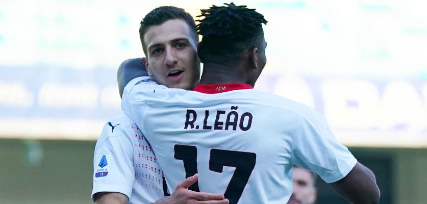 ميلان يشدد الخناق على إنتر في الدوري الإيطالي