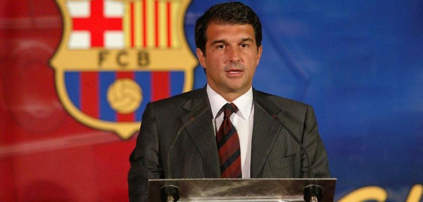 خوان لابورتا رئيسا جديدا لنادي برشلونة