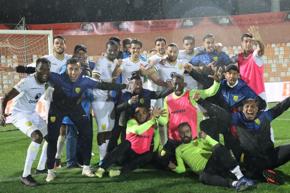 المغرب الفاسي يمر لربع نهائي كاس العرش في مباراة مثيرة ضد نهضة بركان