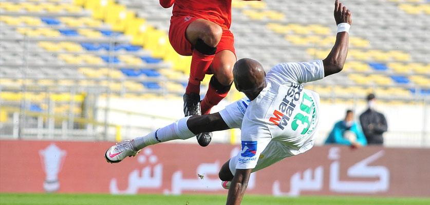 الرجاء يحسم بطاقة التأهل لدور الربع من منافسات كأس العرش المغربي