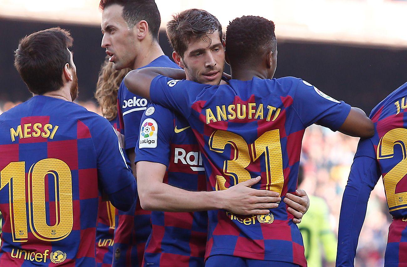 لاعب برشلونة يستفيد من الحجر الصحي لتعلم موهبة جديدة