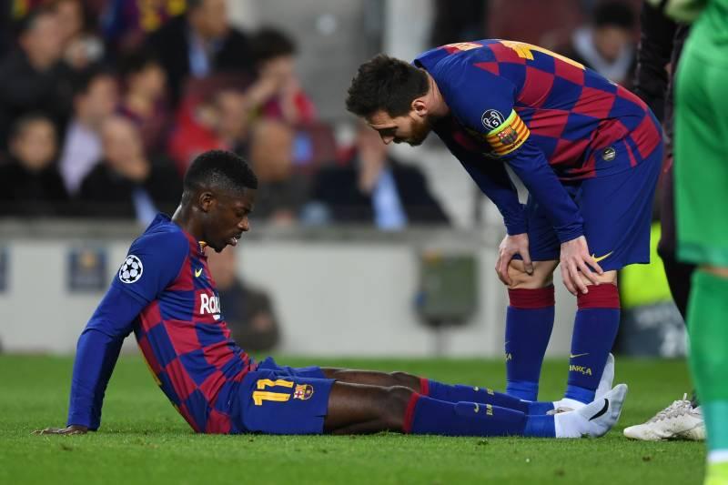 ريفالدو ينصح برشلونة بالتخلص من ديمبلي هذا الصيف