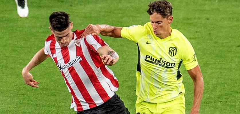 """بيلباو يهزم أتلتيكو مدريد و يهدي برشلونة  فرصة ذهبية لتصدر """"لا ليغا"""""""
