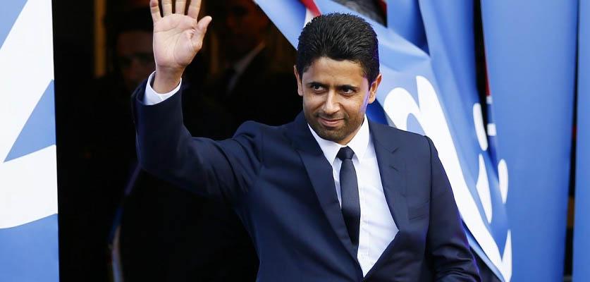 ناصر الخليفي رئيسا لرابطة الأندية الأوروبية خلفا للإيطالي أنييلي