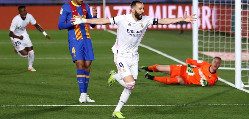 زيدان يقود ريال مدريد لفوز ثمين على حساب برشلونة