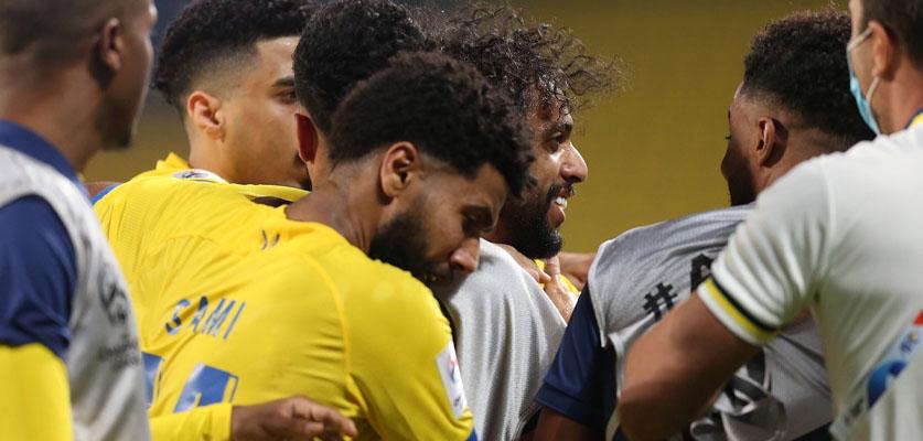 النصر السعودي يحقق فوزا ثمينا على السد القطري في أبطال أسيا