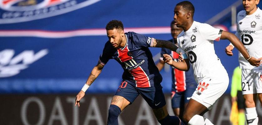ليل  الفرنسي ينفرد بصدارة الدوري الفرنسي بعد فوزه على PSG