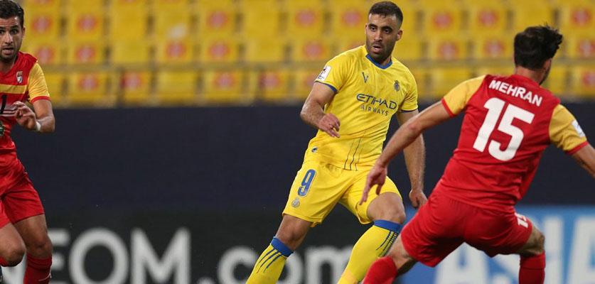 حمد الله يقود النصر السعودي للفوز على فولاد خوزستان الإيراني في أبطال أسيا