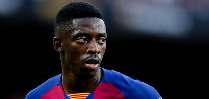 برشلونة يعلن عن قرار جديد بخصوص مستقبل عثمان ديمبيلي