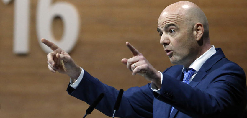 إنفانتينو يضح أندية السوبر ليغ الأوروبي أمام خيارين صعبين