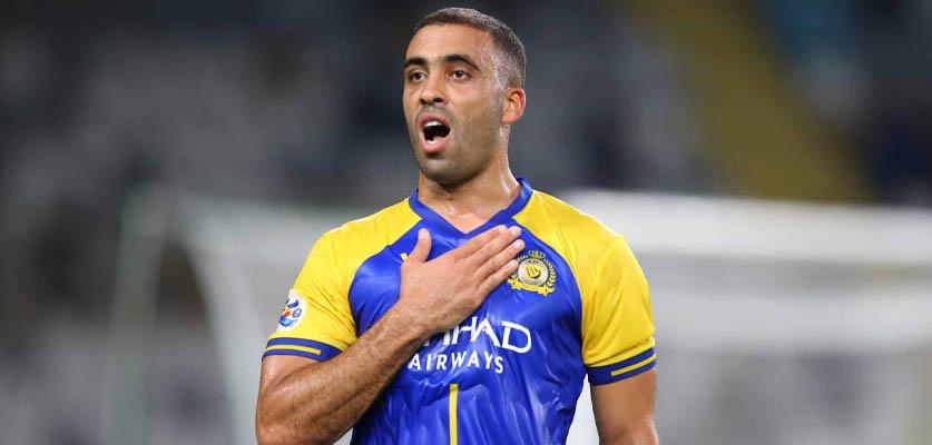 لاعب سعودي يطالب بتقديم شكوى ضد حمد الله