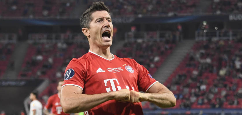 ليفاندوفسكي يحطم جديدا في الدوري الألماني