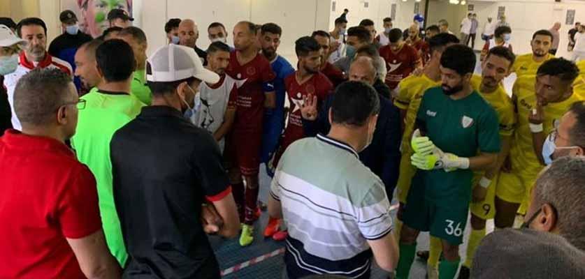 سلطات مراكش توقف مباراة الكوكب المراكشي واتحاد الخميسات بسبب كورونا