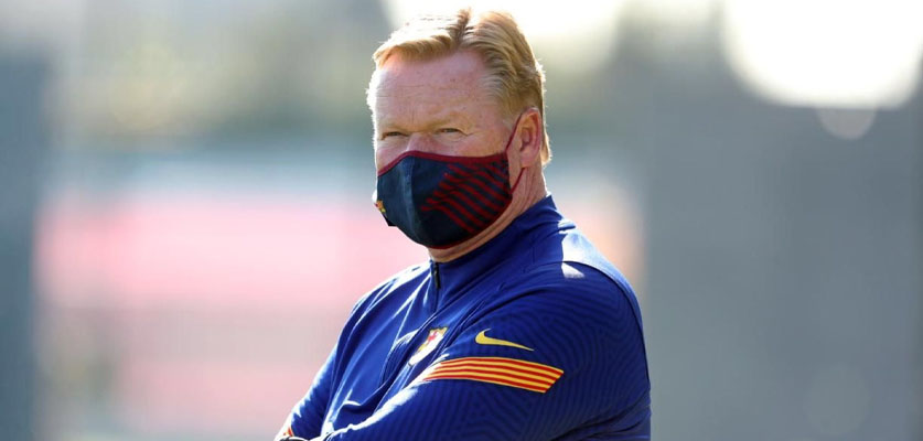 برشلونة يخطط للتعاقد مع خليفة الهولندي رونالد كومان