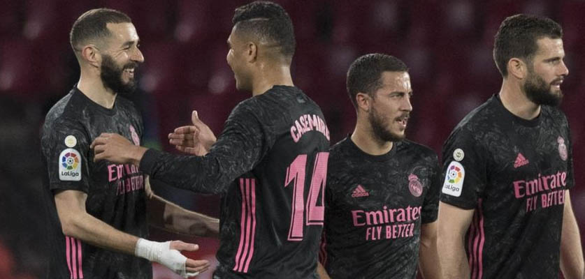 """ريال مدريد يكتسح غرناطة برباعية في """"لاليغا"""""""