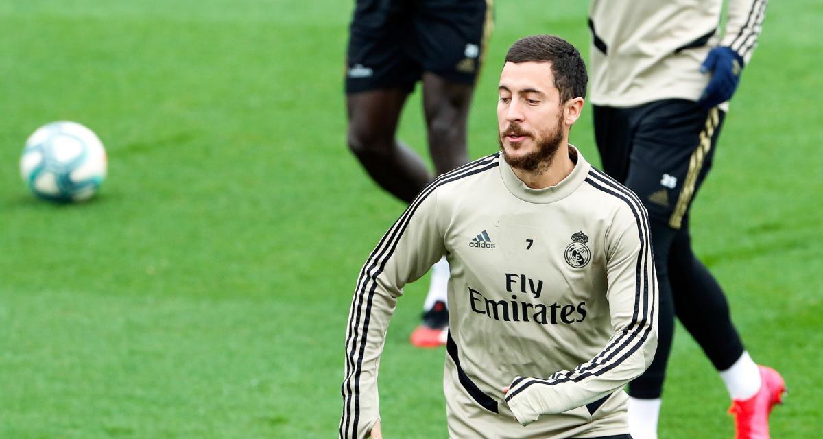 هازارد يغيب عن تدريبات ريال مدريد استعدادًا لـ مايوركا