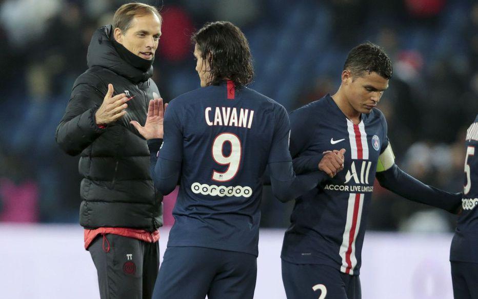 كافاني وسيلفا يرحلان عن باريس سان جيرمان بنهاية الموسم