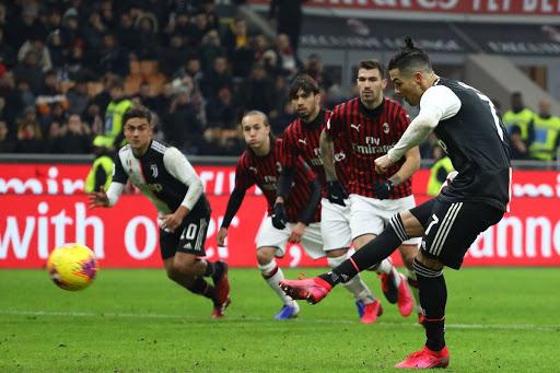 يوفنتوس يتأهل بصعوبة لنهائي كأس إيطاليا بتعادله سلبيًا مع ميلان