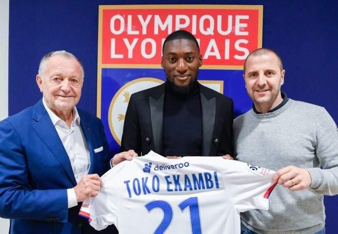ليون الفرنسي يتعاقد بشكل نهائي مع الكاميروني إيكامبي