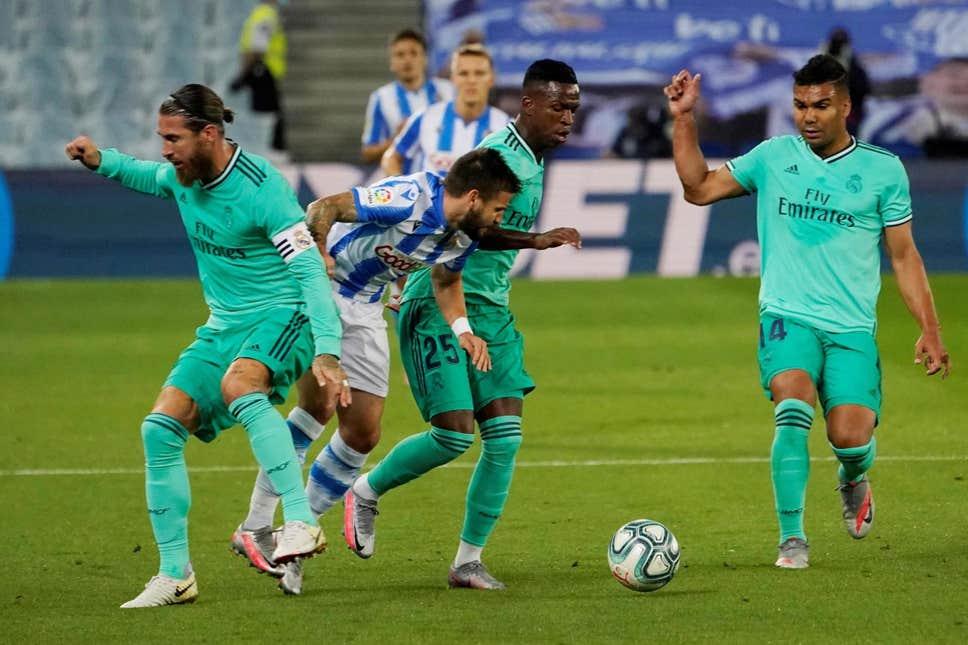 ريال مدريد يعتلي صدارة الليجا بفوز مثير على سوسيداد
