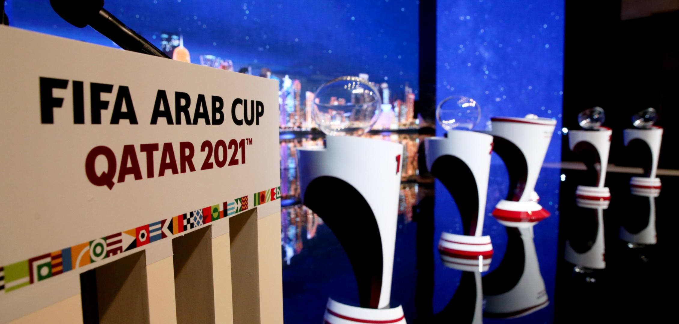 الكشف عن مجموعات بطولة كأس العرب قطر 2021