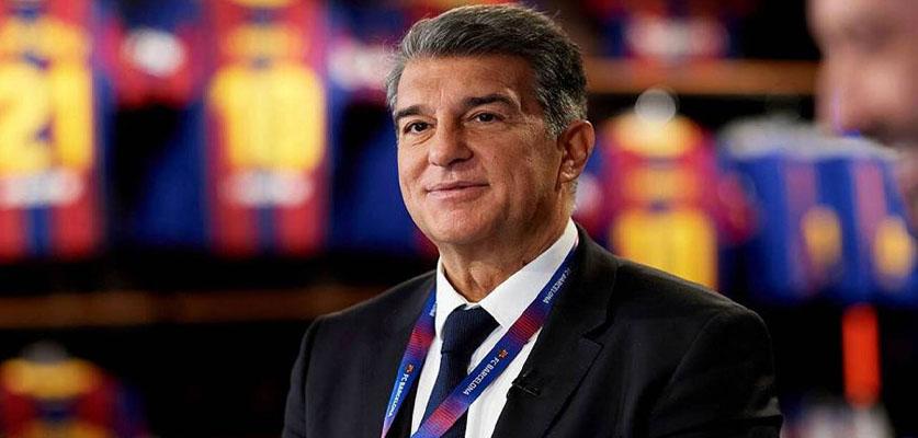 قرار جديد من لابورتا بشأن دوري السوبر الأوروبي