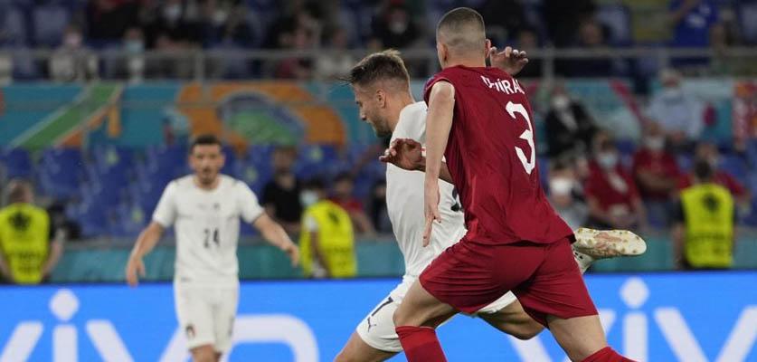 إيطاليا تحقق الفوز على تركيا بثلاثية في افتتاحية بطولة أمم أوروبا