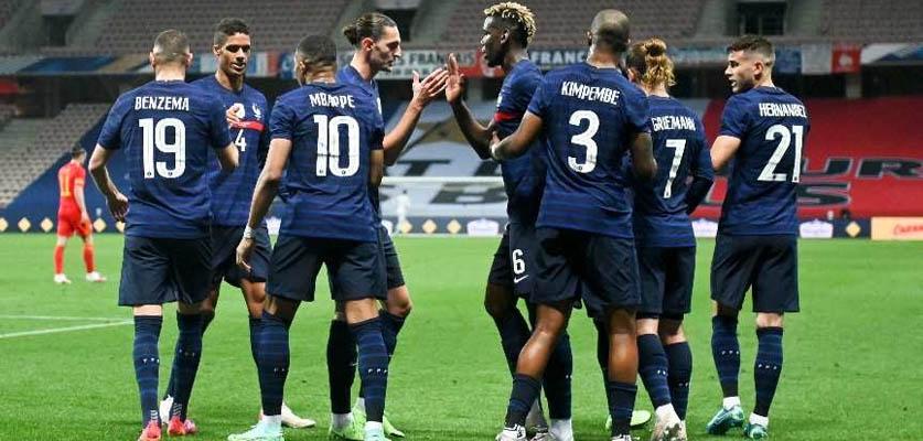 المنتخب الفرنسي يحقق انتصارا هاما في أول مبارياته بكأس أمم أوروبا
