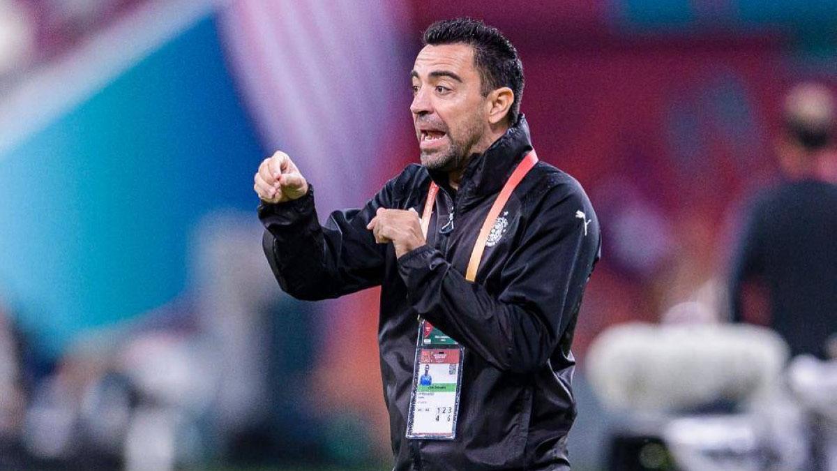 """تشافي: """"هدفي الرئيسي هو تدريب برشلونة"""""""