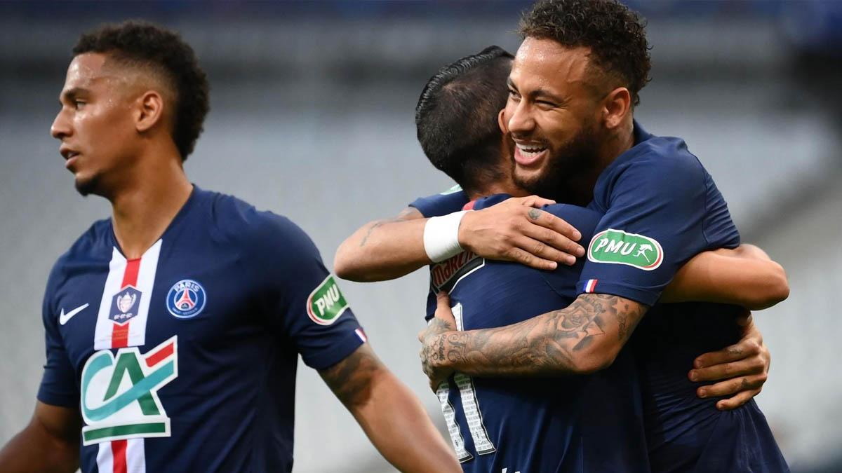باريس سان جرمان يفوز بكأس فرنسا و يحرز لقبه الثالث عشر