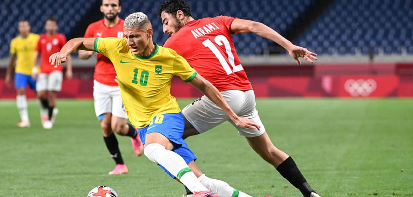 مصر خارج أولمبياد طوكيو بعد الهزيمة أمام البرازيل