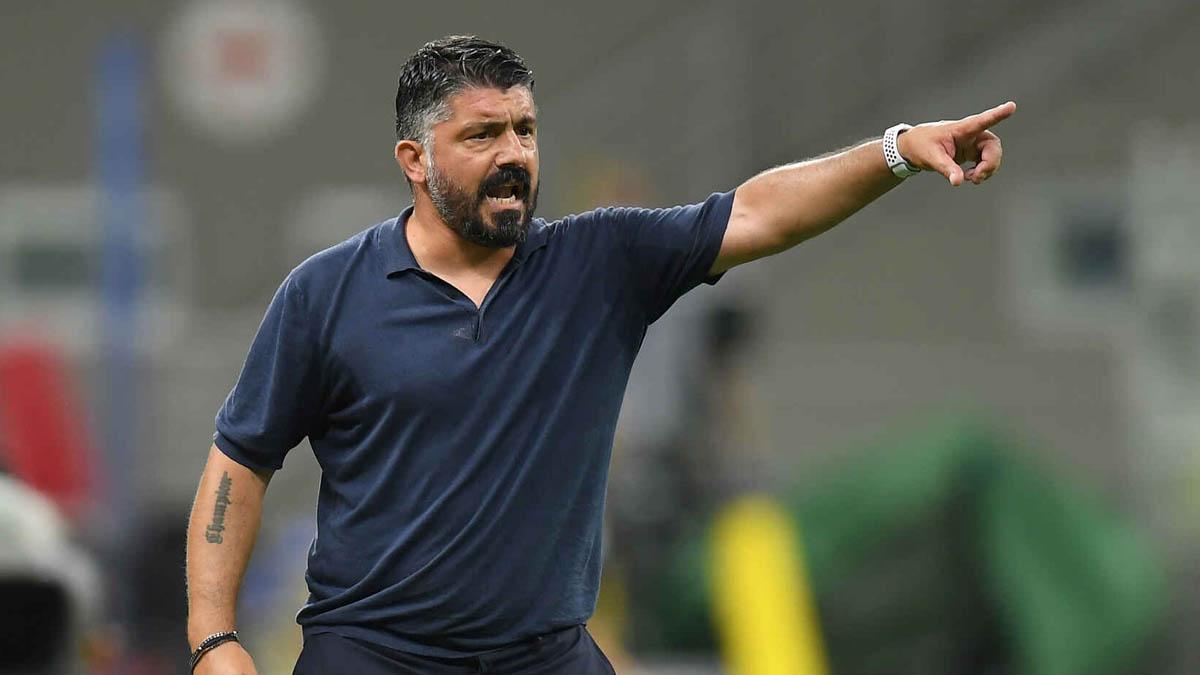 غاتوزو يقود نابولي من أجل مواصلة النتائج الجيدة أمام برشلونة