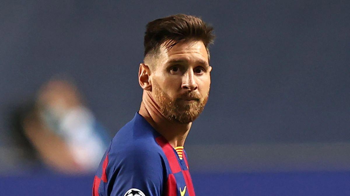 مبلغ خيالي لفسخ عقد ميسي مع برشلونة