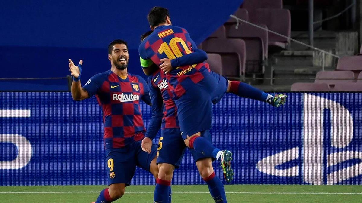 برشلونة يمر للدور المقبل في دوري أبطال أوروبا على حساب نابولي