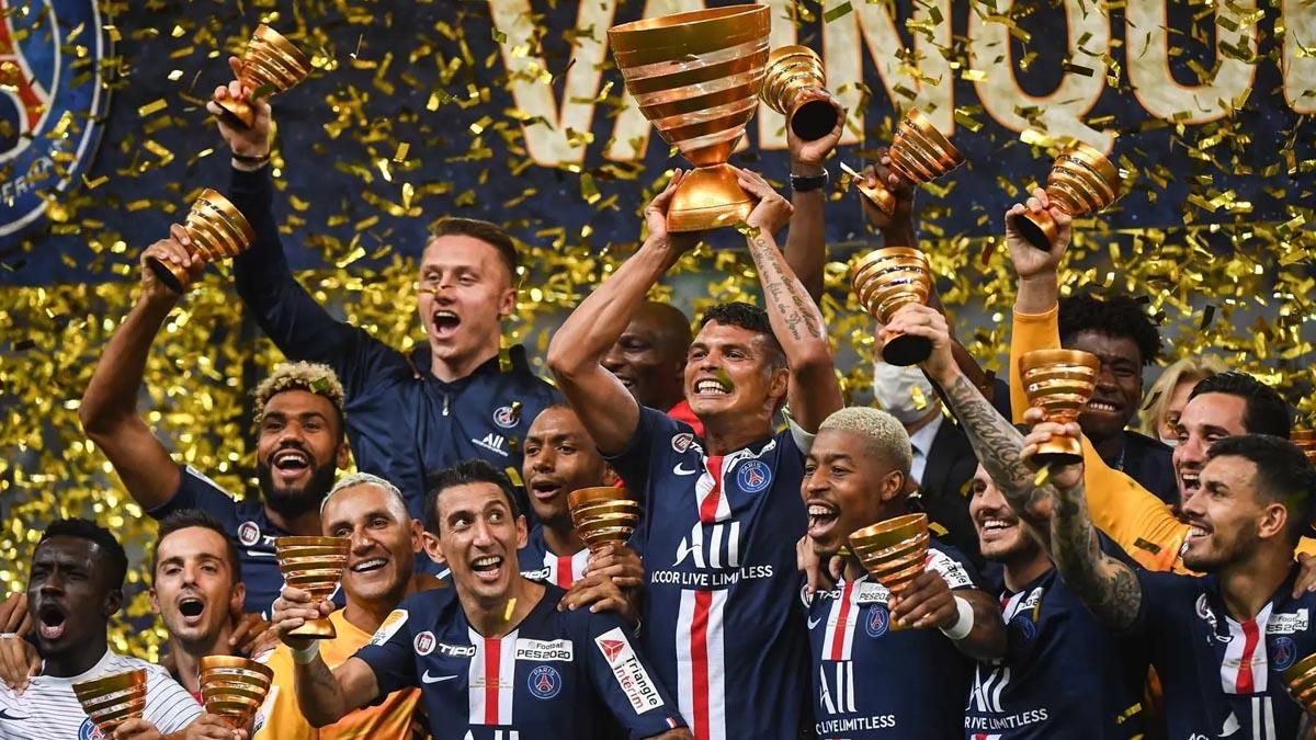 سان جرمان يحقق كأس الأندية الفرنسية للمرة التاسعة في تاريخه