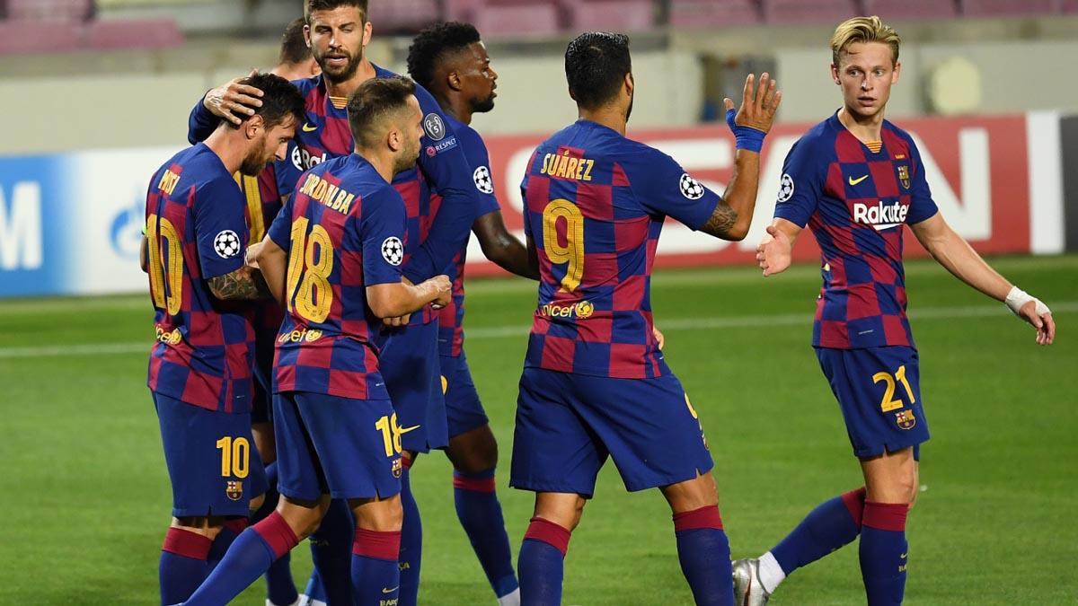 كورونا يقتحم تشكيلة برشلونة قبل مواجهة بايرن ميونخ
