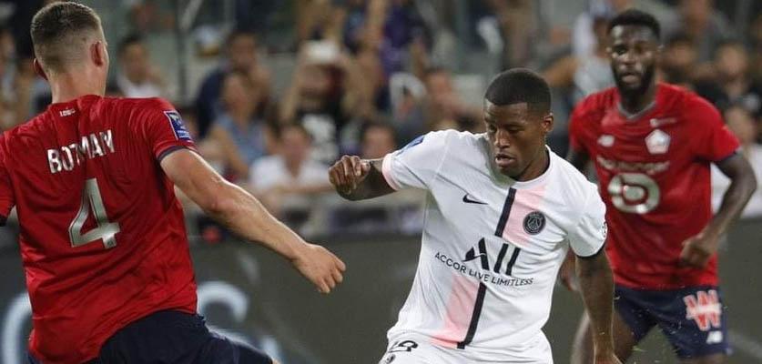 ليل يتوج بكأس فرنسا لأول مرة في تاريخه على حساب PSG