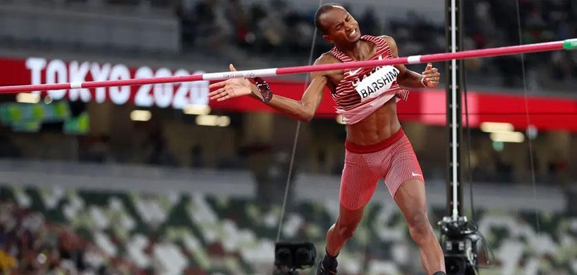 معتز برشم يحقق ذهبية الوثب العالي في أولمبياد طوكيو